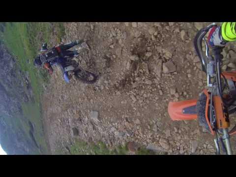 Dirt Bike Webster Pass 2017 Jeff Drops His Bike