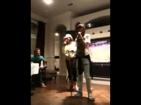 Liz from 'My Life as Liz' rapping with friends