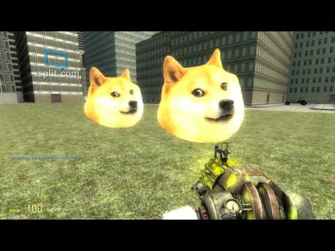 [GMOD] Run from sanic and doge episode 5