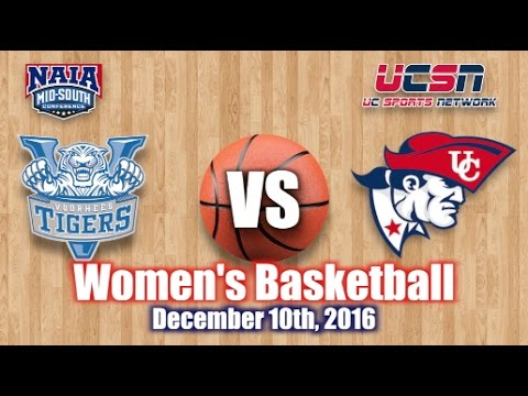 University of the Cumberlands - Women's Basketball vs. Voorhees College 2016-2017