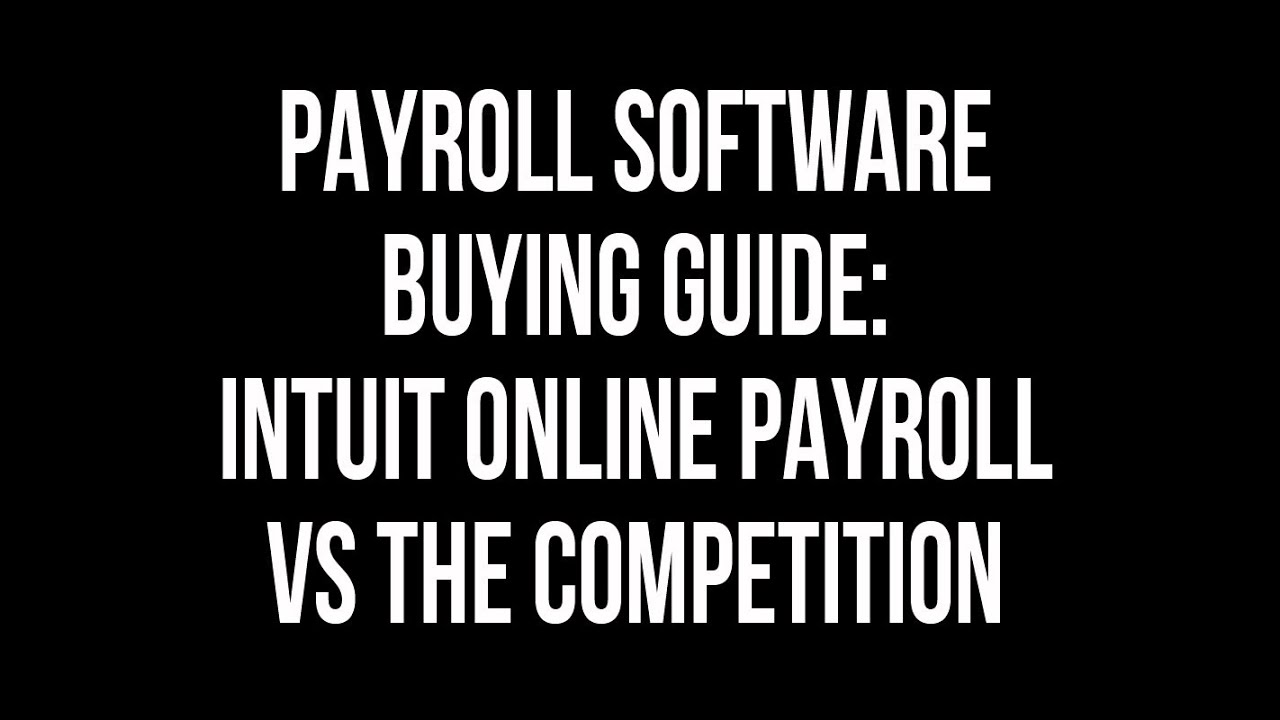 Online payroll what's new guide.