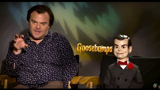 Sit Down with the Stars: Jack Black and Slappy The Dummy Get Real with GOOSEBUMPS - Regal Cinemas