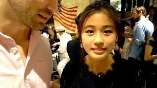 Вербую японок для поездки  в Россию. Попросил Мисаки спеть для меня