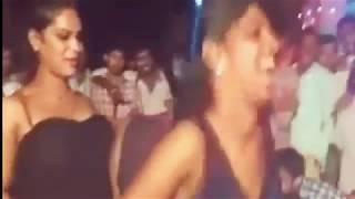 Andhra Village Street Recording Midnight Dance Show