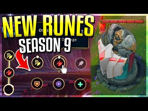 NEW PRE-SEASON 9 CHANGES!! New Runes, LEAKED Skins. Towers & MORE! League of Legends thumbnail