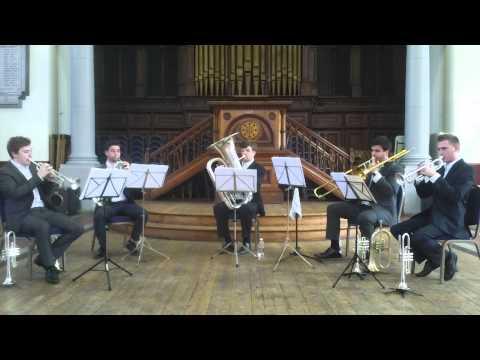 The Bold as Brass Ensemble. Michael Kamen- Quintet.