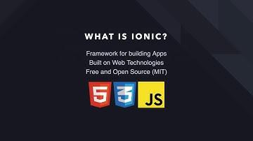 Ionic Framework Crash Course (4.0+)