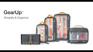 Lowepro Gear Up Series - Product Walk Though