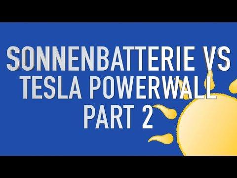 PART 2: sonnenBatterie VS Tesla Powerwall