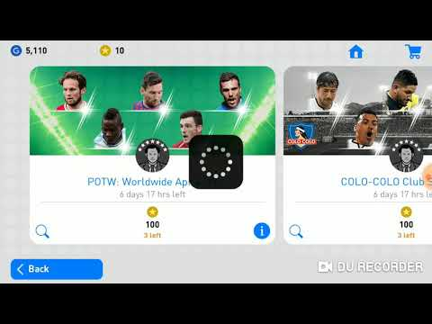 POTW : Worldwide Apr 4 '19 Featured Player Trick 100 % Get Black Ball In 1 SEC  PES MOBILE ! TRY NOW