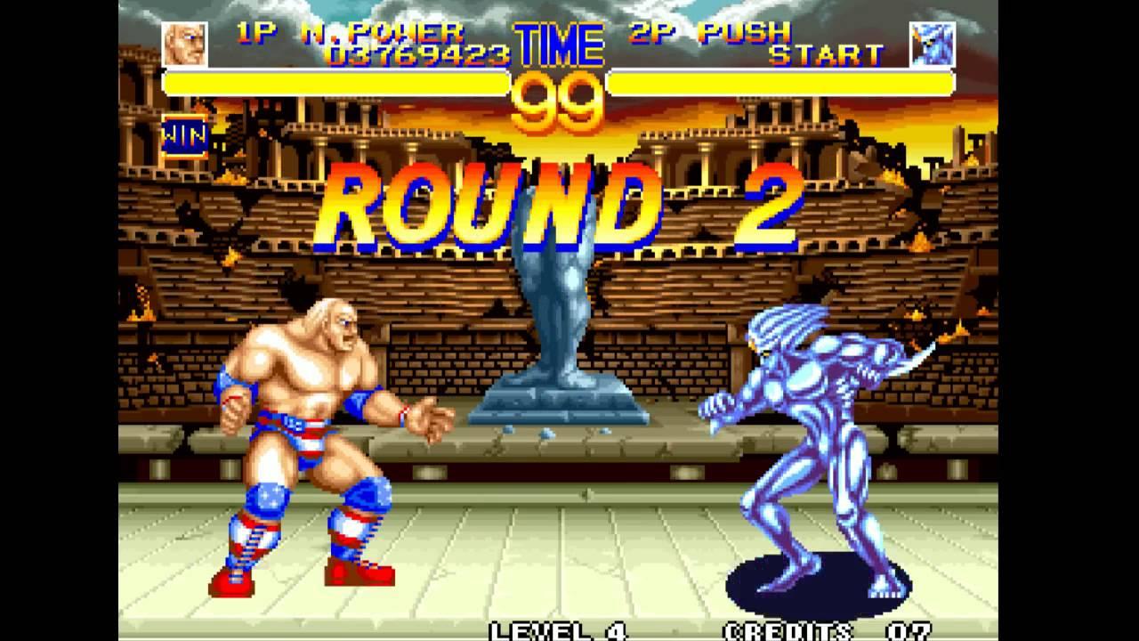 World Heroes 2 - Muscle Power vs Dio NO BONUS [720p ...
