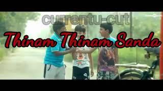 Natpe thune/pallikoodam song what's app status Tamil/currentu cut