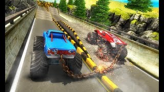 Chained Monster Truck Rivals: Ramp Racing Stunts - Best Android/iOS Gameplay HD