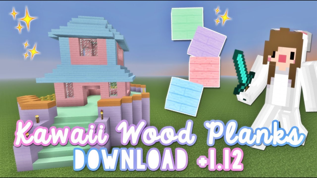 Kawaii Wood Planks ♡ DOWNLOAD +1.12 on mcpe lost map, mcpe the walking dead map, mcpe mansion map, mcpe city map,