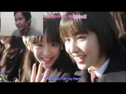 Sakura Gakuin - FRIENDS MV (with ENG+KARAOKE SUB) Reaction!!