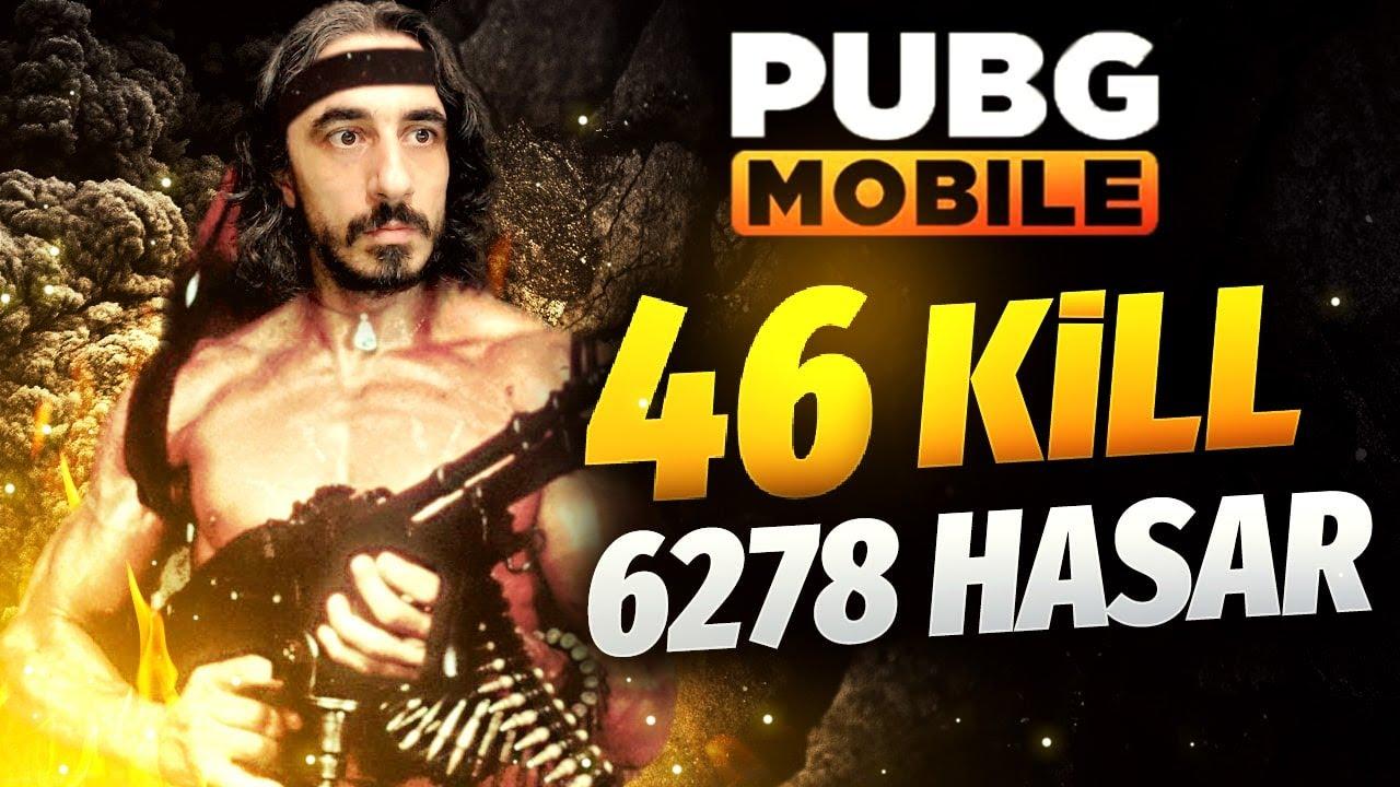 BU OYUNCULARA DİKKAT !! 46 KİLL 6278 HASAR !! - PUBG Mobile