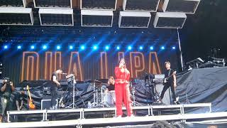 Dua Lipa No Goodbyes Music Midtown 2017