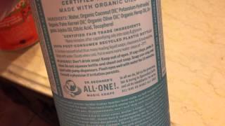Going organic! Baby body wash and shampoo