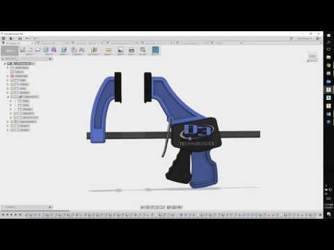 D3 TECHNOLOGIES - Autodesk Fusion 360 Can Model, Render & Send to CAM