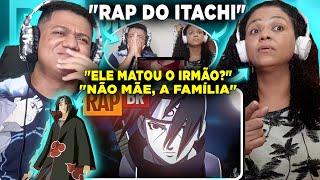 MINHA MÃE REAGINDO AO Rap do Itachi (Naruto) | Tauz RapTributo 18