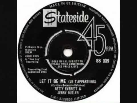 Let It Be Me - Jerry Butler & Betty Everett - 1964.