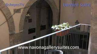 видео Отель Navona Gallery & Garden Suites