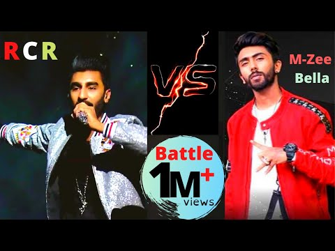 RCR VS M-ZEE BELLA BATTLE ( RCR AND M-ZEE BELLA FULL BATTLE RAP)