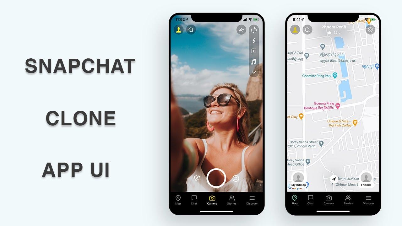 Flutter UI - Snapchat Clone - Part III - Speed Code
