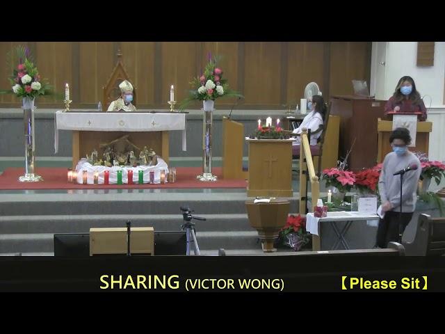 2020-12-25 10:00 Mr. Victor Wong & Ms. Kitty Lo - Testimonies (Christmas)  (EN)