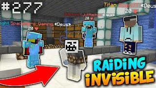Huge Invisible Raid TROLL! (Worth $70M) | Minecraft Factions #277 (SaiCoPvP)