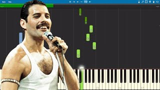 Queen - Friends Will Be Friends Piano Parts ONLY - Tutorial