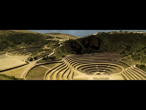 Inca Agriculture Complex Or Amphitheater? Moray In Peru