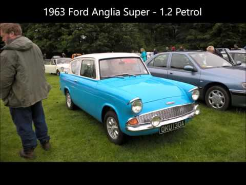 Raby Castle Classic Car Show 2015