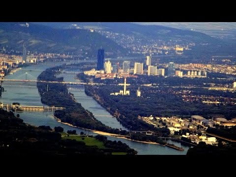 Vienna-Moscow (annotated) flight OS 601: Takeoff, Slovakia, Poland, Belarus, landing 2015-08-26