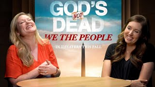 Francesca Battistelli Explains h๐w God Is Good will be Used in God's Not Dead: We The People
