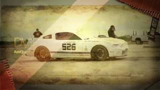 Mustang breaks the Standing Mile World Record (full Video)
