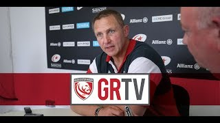 #GRTV | Ackermann disappointed that Gloucester Rugby didn't do themselves justice in semi-final