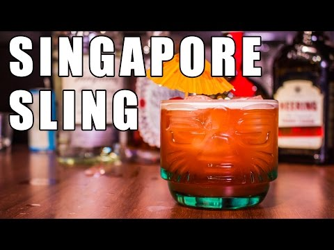 Singapore Sling - Drink This Tonight #14