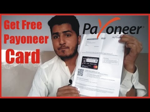 HOW TO GET FREE PAYONEER PREPAID CARD    CREATE PAYONEER WITHOUT BANK