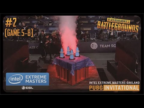 ESL IEM PUBG Oakland Day 2  - Game 5-8 Highlight (Nov 19, 2017)