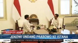 Jokowi Bertemu Prabowo di Istana