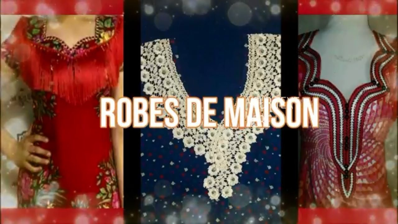 6152eb6a094 ROBES DE MAISON ETE 2018 - YouTube