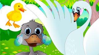 Гадкий утенок - Сказка для детей/ Мультфильмы для детей/ Машулины сказки /Сказки для малышей