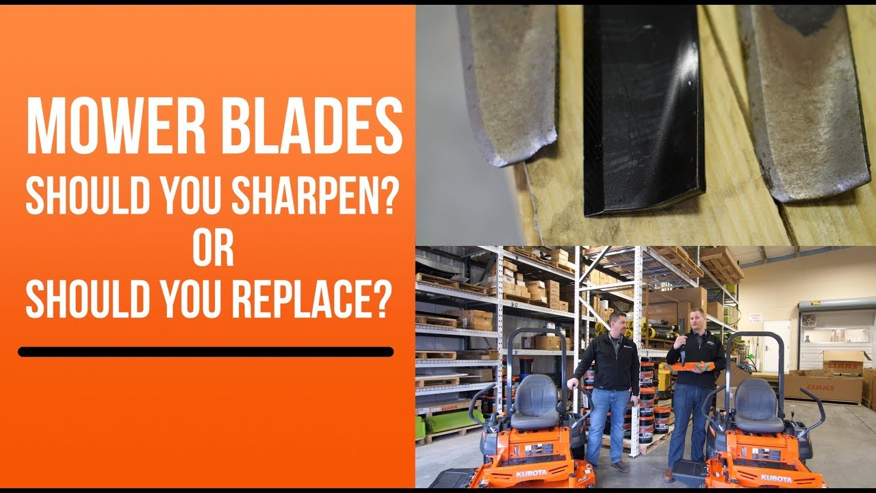Replace Your Kubota Mower Blades!