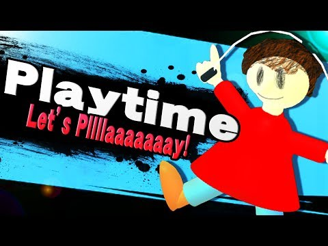 PLAYTIME JOINS THE BATTLE IN SUPER SMASH BROS ULTIMATE! thumbnail