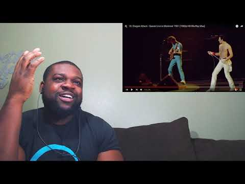 Dragon Attack - Queen Live In Montreal 1981 Reaction