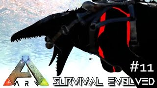 ark survival evolved new poop baby bionic mosasaurus e11 modded ark mystic academy