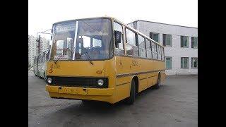 Смотреть видео Ikarus 260 (280) 16283 АТ 167 77 Москва Маршрут №711 (ДТП на Каширском шоссе) онлайн