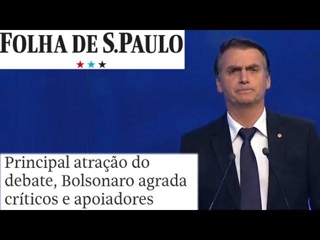 ***** Bolsonaro Saiu-se Bem No Debate Da Band. *****