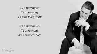 Feeling Good - Michael Buble (Lyrics)